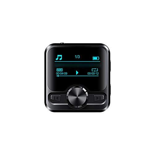 IrahdBowen MP3-Player Bluetooth 4.2 MP3 Player FM Radio Sport Walkman, CD Qualität, Sound DSD, Klangqualität HiFi Choc Performance Tri-Band Portable MP3