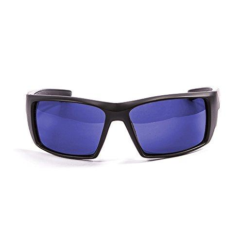OCEAN SUNGLASSES - Aruba - lunettes de soleil polarisÃBlackrolles  - Monture : Noir Mat - Verres : Revo Bleu (3201.0)