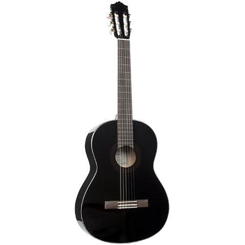 Yamaha C40BL//02 - Guitarra clásica, color negro
