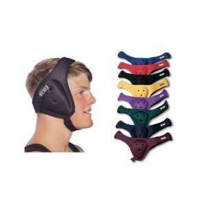 Matman Ultra Soft Wrestling Headgear - Black - ADULT