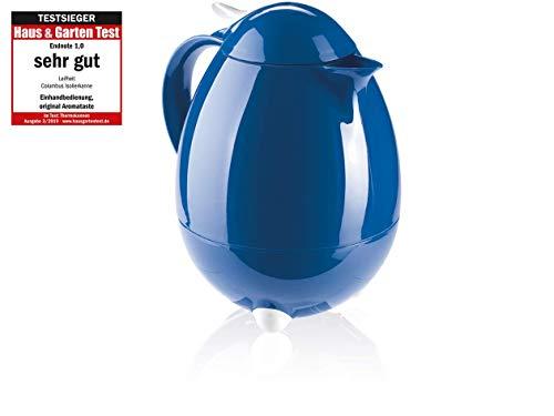 Leifheit 28346 Columbus - Jarra termo (1 litro), color azul