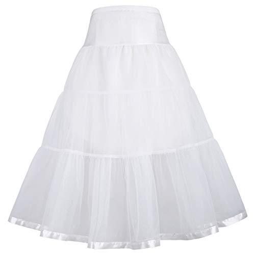 GRACE KARIN Maedchen Retro Petticoat Unterrock 6-7 Jahre CL11036-2