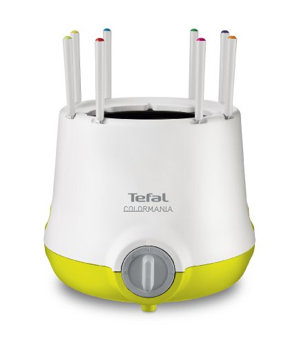 Tefal EF250O13 Appareil à Fondue Thermoprotect Colormania