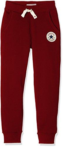 Converse Core, Pantaloni Sportivi Bambino, Rosso (Red Block), Medium (Taglia Produttore: 10-12Y)
