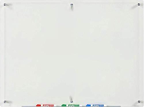 Audio-Visual Direct 80 x 110 cm Pizarra Transparente Incluye Bandeja Para Marcadores (No Magnético)
