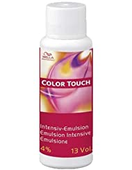 Wella Color Touch Intensiv-Emulsion 4 prozent, 60 ml, 2er Pack, (2x 0,06 L)
