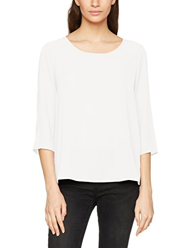 ONLY Damen Bluse Onlvic 3/4 Solid Top Noos Wvn, Weiß (Cloud Dancer), Small (Herstellergröße: 36)