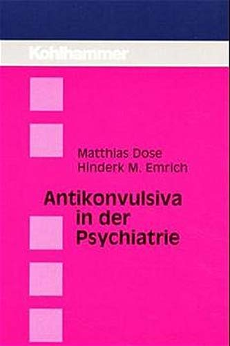 Cover »Antikonvulsiva in der Psychiatrie«