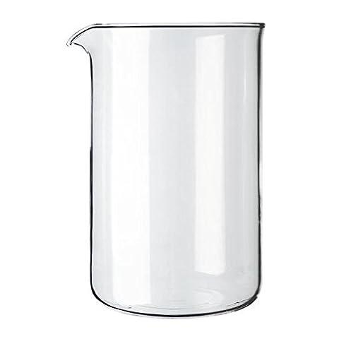 Bodum Transparent Glass Spare Coffee Maker Beaker 12 Cup 1.5L