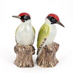 Quail Ceramics - Woodpecker Salt and Pepper from Quail Ceramics