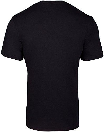 Lonsdale Herren Langarmshirt T-Shirt Trägerhemd Walkey Black
