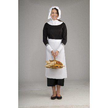 Forum Novelties Pilgrim Frau Kostüm Kit (Adult Pilgrim Kostüm)