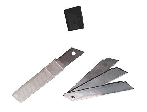 10 lames pour cutter 18 mm, professionnels Lames de rechange pour cutter