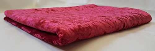 crush-velvet-upholstery-fabric-per-2-meter-x-140-cm-available-in-12-colours-red