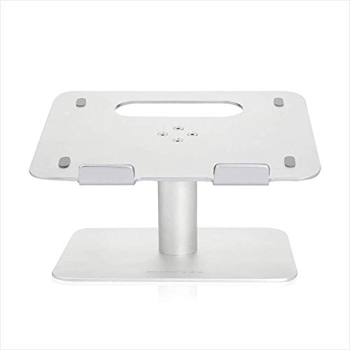 Preisvergleich Produktbild Laptopständer,  Computer Ständer Cooling Computer Basis Notebook Ständer MacBook / MacBook Air / MacBook Pro / Notebook Aluminium - Silber