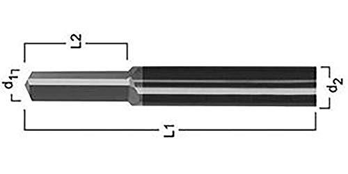 Format 7618540600HSS Gewindebohrer für Ziehen schwarzen VHM M 6z3format