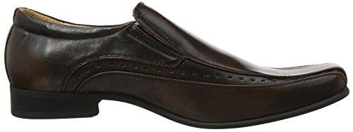 Goor , Chaussures de ville à lacets pour homme Marron - marron