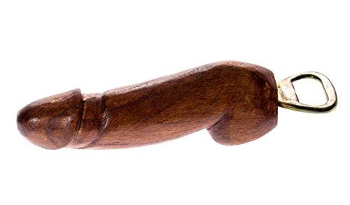 20cm Holz Penis Bier Flaschenöffner Phallus Holzpenis Geschenk Party