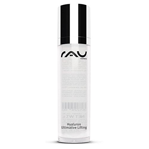 RAU Hyaluron Ultimative Lifting Gel 50ml im Airlessspender, unser Topseller im Kampf gegen das Altern der Haut mit Soforteffekt. Liften Sie Ihre Haut ohne zu spritzen! - Hyaluronsäure-Konzentrat