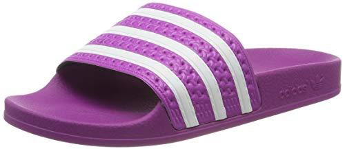 adidas Damen Adilette W Dusch- & Badeschuhe, Vivid Pink/FTWR White, 38 EU