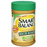 Smart Balance All Natural Rich Roast Chunky Peanut Butter 16 oz by Smart Balance