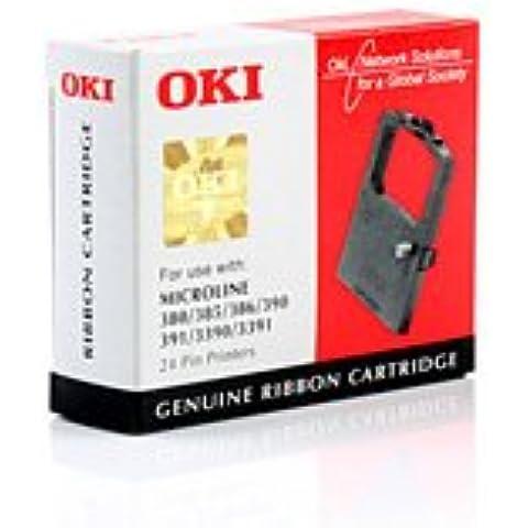 Cinta Original OKI Microline 391 Turbo - 09002309 09002309 , 9002309ML 390 - negro - Original Páginas