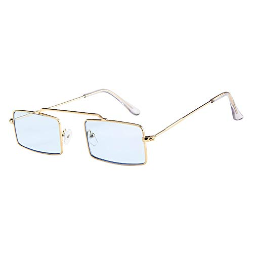 QinMM Frauen Männer Vintage Retro Big Frame Brillen Unisex Sonnenbrillen Eyewear Multicolor Modelle wählbar Sonnenbrille Sport Style