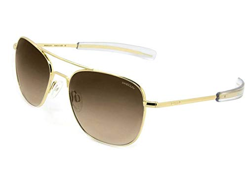 Randolph Herren Sonnenbrille Gold Oro (Gold) 58