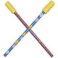 Kau-Kappen für Stifte, glatt/texturiert, 2 Stück