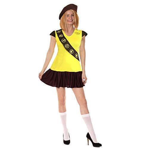 sowest Brownie Girl Guide Kostüm Outfit (L 12-14) (Brownie Kostüm)