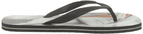 Eleven Paris Flip Flop Paris, Tongs mixte adulte Noir (Paris Flash)