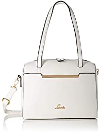Lavie VIGABATRIN Women's Handbag (White)