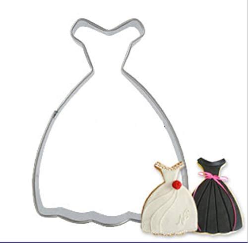 Zoomy far Zoomy weit: 2015 Brautkleid Prinzessin Kleid Ausstechform Antihaft-Keks-Kuchen-Dekor...