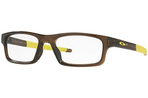 Oakley Rx Eyewear Für Mann Ox8037 Crosslink Pitch Bark Kunststoffgestell Brillen, 54mm