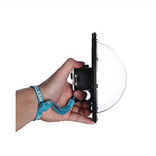 Descripción del producto         Este producto está diseñado para fotografías de snorkel diseñadas para la serie GoPro Session. Permite a los usuarios capturar imágenes por encima y por debajo del agua simultáneamente. Y estos a menudo se denomina...