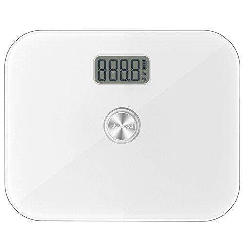 dodocool Bilancia Pesapersone Digitale Senza Batteria Precisione Corpo Digitale con Capacità di 330 lb