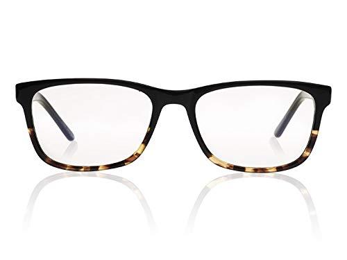 Reluxer Computerbrille ohne Sehstärke Travis // Havana Night - Mit Kwaliteits Blaulichtfilter - Augenschutz, zu Hause und auf Arbeit. Relux deine Augen! - Travis Brillen