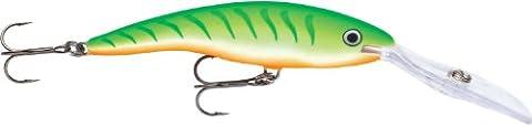 Rapala Deep Tail Dancer 7 Fishing Lure, Green Tiger UV, 2-3/4-Inch