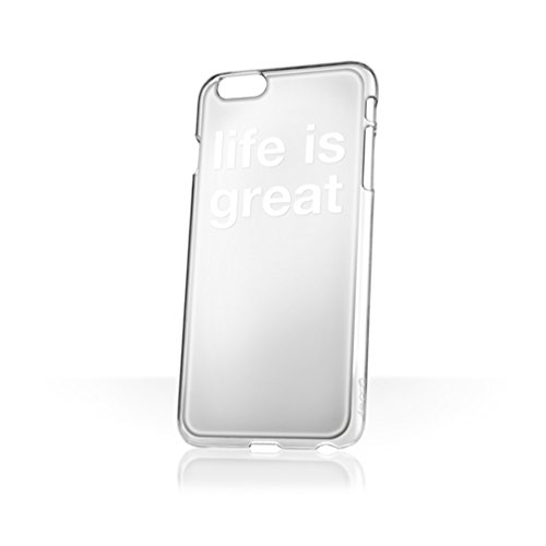 Blair Chivers x goo.ey - selbsthaftendes Case für Apple iPhone 6 / 6S - Life is Great (Spiegel) mirror