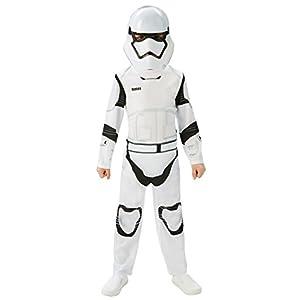 Mezza Maschera Tuta Star Wars Stormtrooper 2 Pezzi per Bambini Bianco Nero 19 spesavip