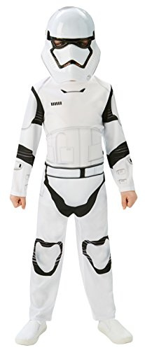 Rubies 3620267 - EP7 Stormtrooper classic child, 5/6 jahre (M), (Stormtrooper Uk Kostüme)