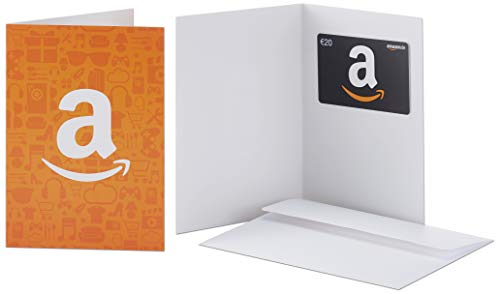 Amazon.de Geschenkkarte in Grußkarte - 20 EUR (Amazon Icons)