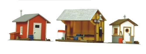 Life Like Trains Life Like Trains HO Scale Building Kits Trackside Shanties