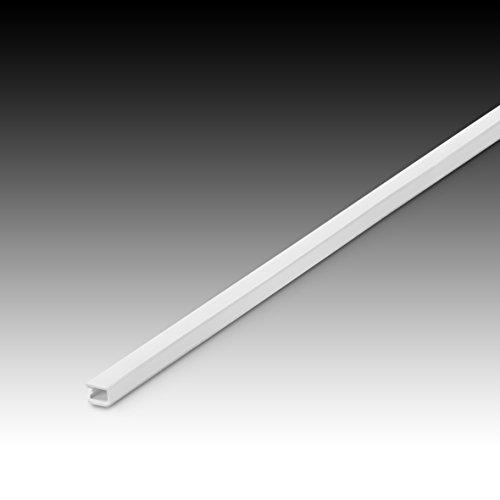 2405-2 Kabelkanal 200 x 0,9 x 0,5 cm (L/B/H) - selbstklebend (Weiß)