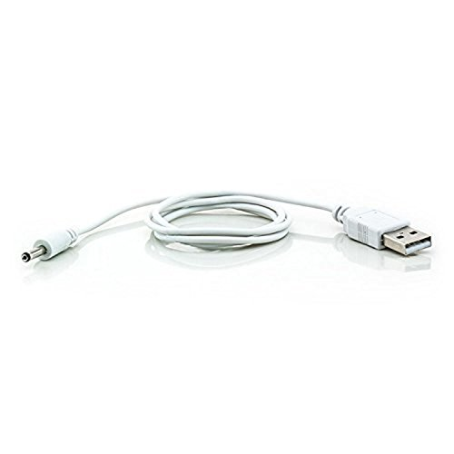 Saxonia Usb 2.0 Power DC Kabel 3,5mm | 2,1mm Hohlstecker Portable Usb-power-kabel