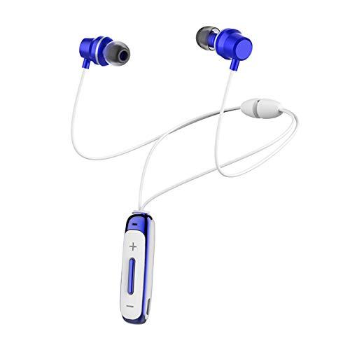 H&T Bluetooth-Kopfhörer, wasserdichte kabellose magnetische Stereo-In-Ear-Ohrhörer, rauschunterdrückende kabellose Sport-Kopfhörer für iPhone/iPad/Samsung/Huawei,C
