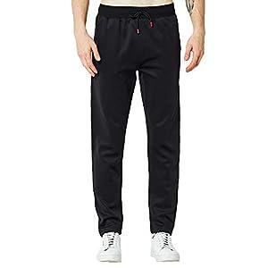 Bealeuy Herren Sporthose Trainingshose Fitness Sport Unifarben Mens Fashion Pure Color Hosen Hosen beiläufige Löcher Hosen Jogginghose