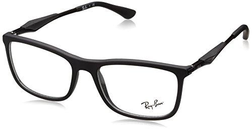 Ray-Ban Herren Brillengestell 0rx 7029 2077 55, Schwarz (Black)