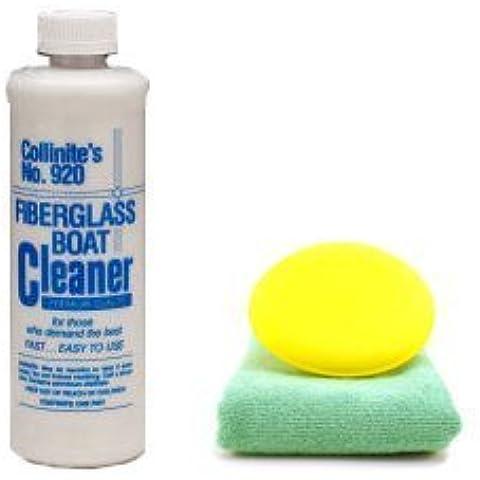 Collinite limpiador de fibra de vidrio barco # 920Combo por Collinite