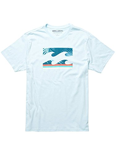 Billabong Herren Team Wave Short Sleeve T-Shirt Coastal Blue